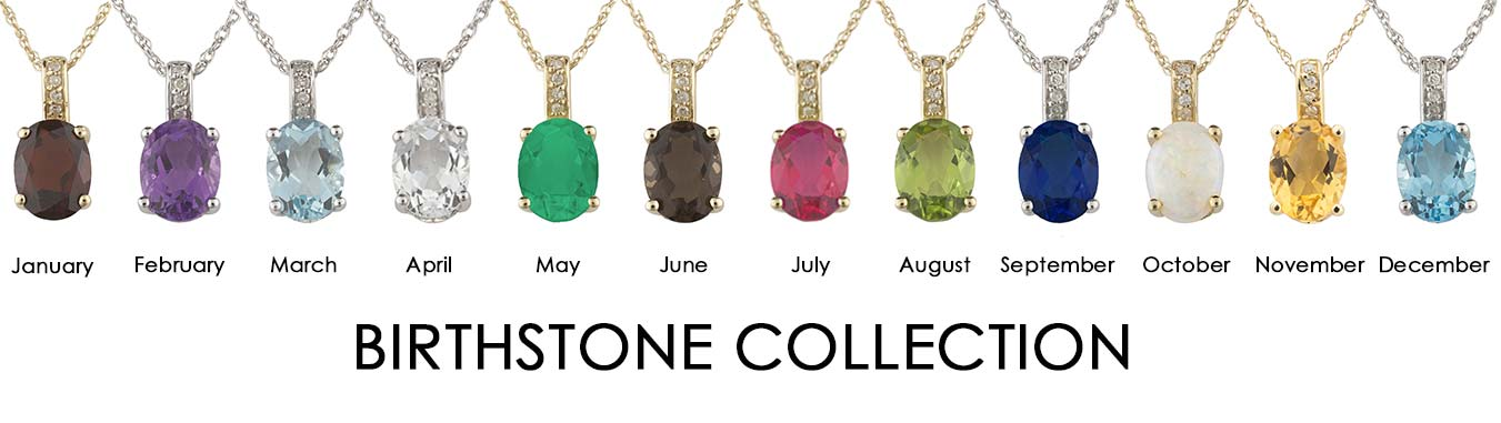 Saslow's & Henebry's Jewelers Birthstone Collection